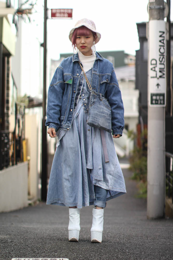 Denim industry veteran Gordon Muir shares his trend mood board inspired by denim street style in Tokyo and Osaka.