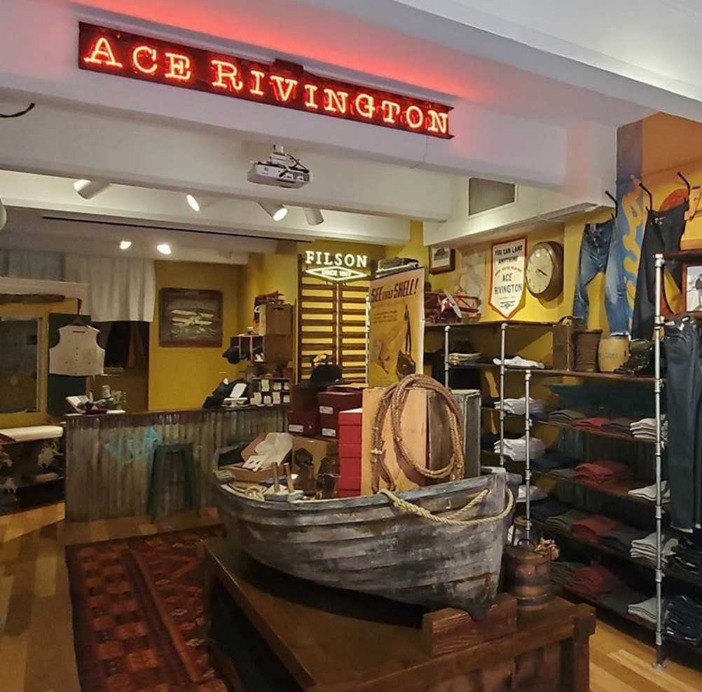 Ace Rivington's Santa Barbara store will undergo some layout changes upon reopening.