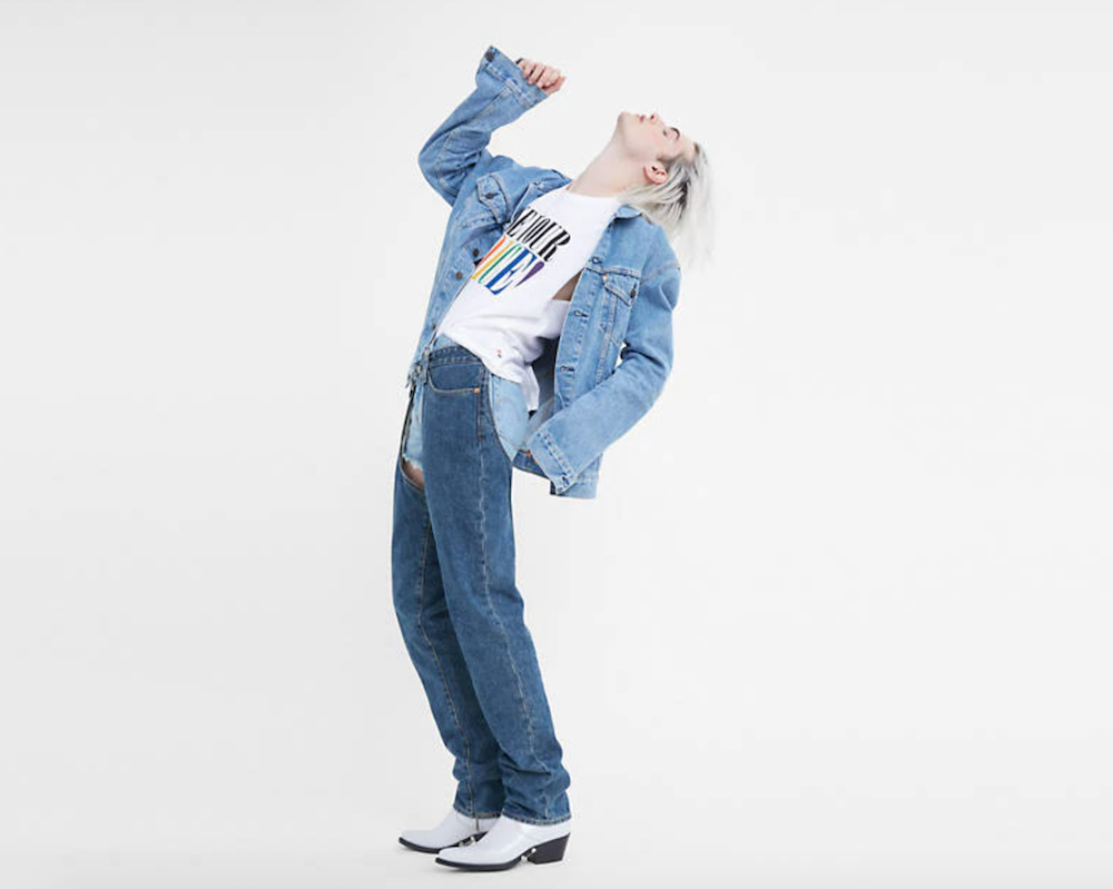 Denim brands are showing their support for the LGBTQ+ community with new collections and initiatives that celebrate Pride Month.