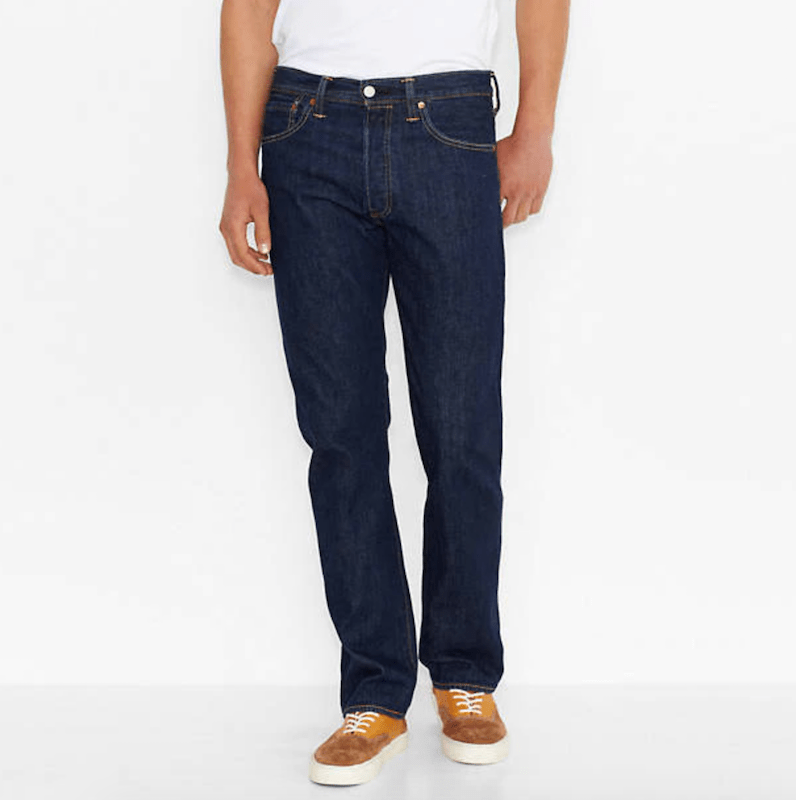 Rivet compiled a Father's Day gift guide complete with jeans, denim shirts, shoes and accessories under $105 for denim-loving dads.