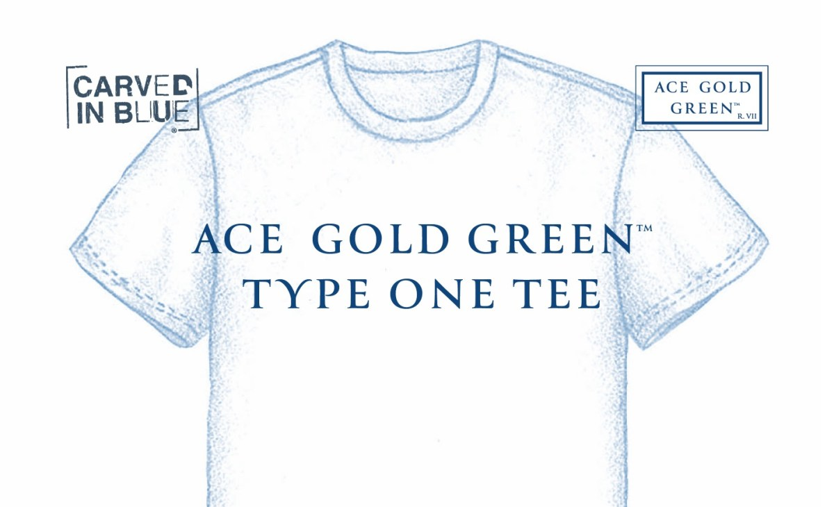 Ace Gold Green Brings Circular Touch to the Classic Tee