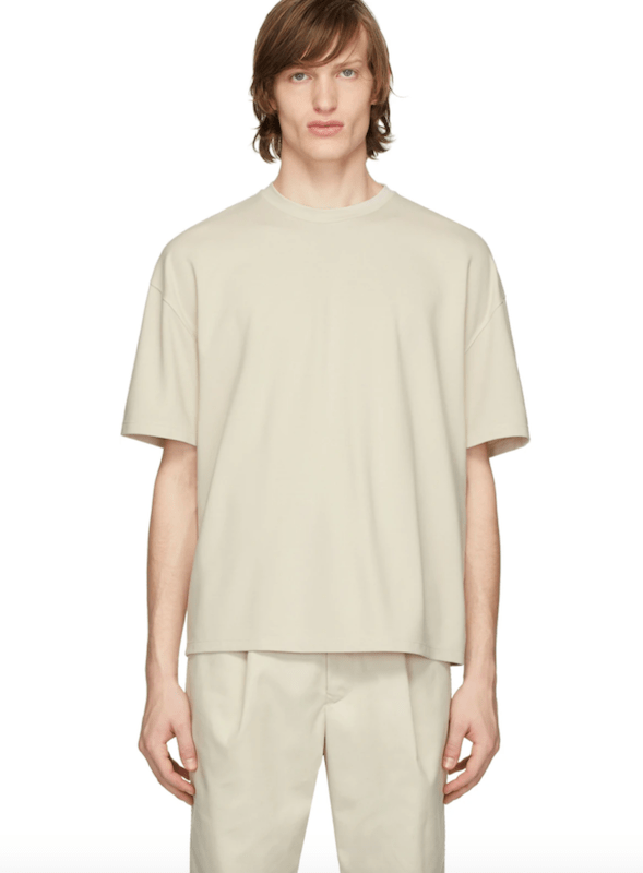 Rivet compiled a list of men's T-shirts that feature stripes, tie dye and other interesting effects that elevate a basic tee.