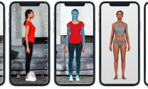 3DLook's body scanning technology generates more than 70 measurements using just two consumer photos.