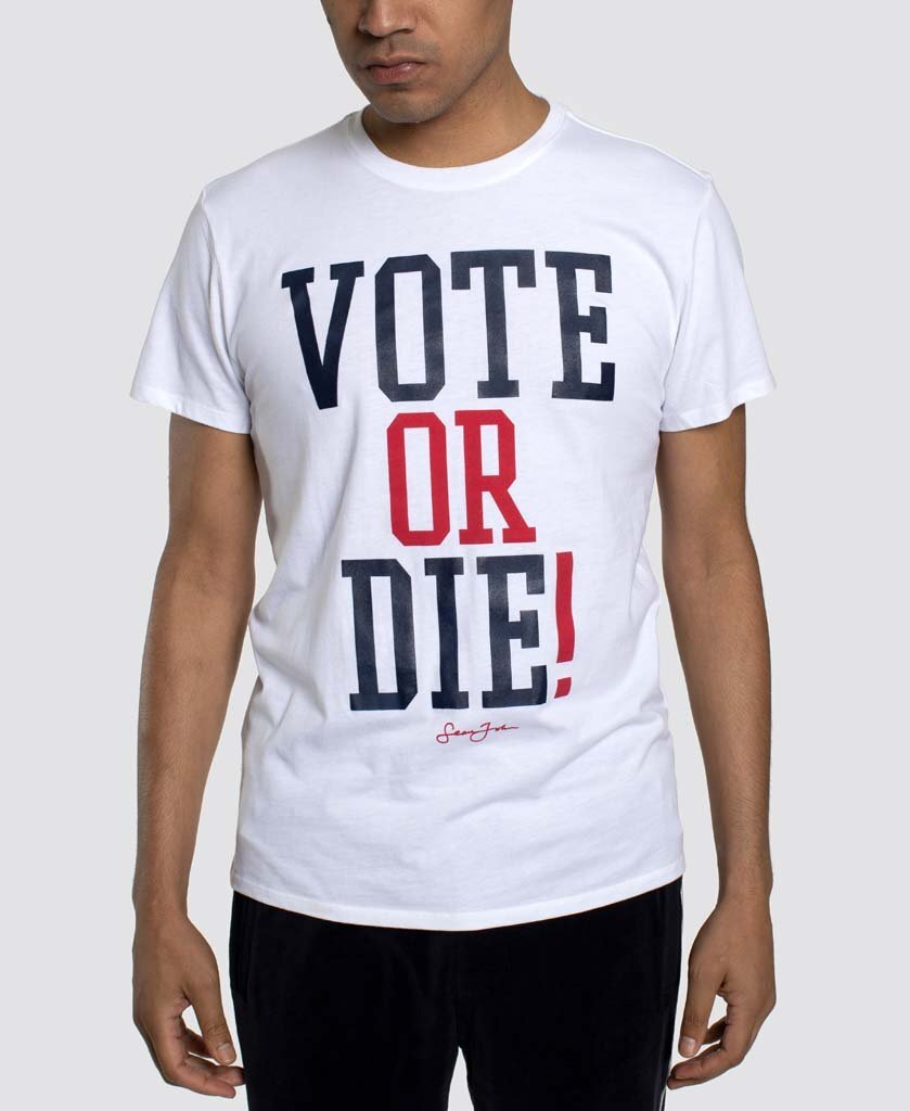 "Sean John and Global Brands Group relaunched ""Vote or Die"" to support groups that promote voting, education and grassroots empowerment."