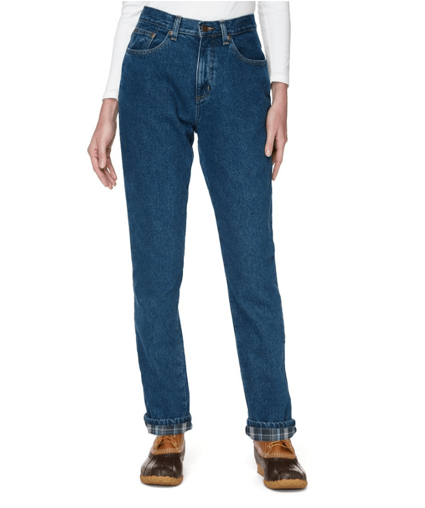 Rivet compiled some of the best jeans for lounging around the house, featuring styles made with Tencel, flannel and velvet denim.