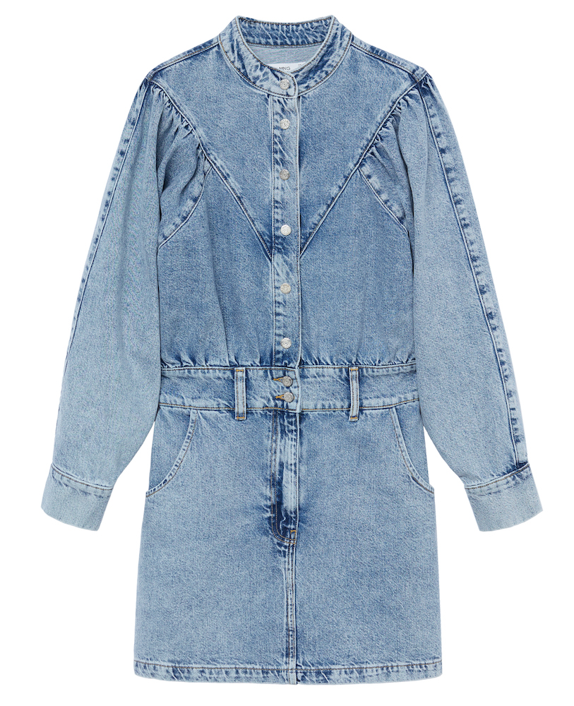 Spanish retailer Mango slashes its water intake in a new denim collection produced with sustainable finishing technologies.