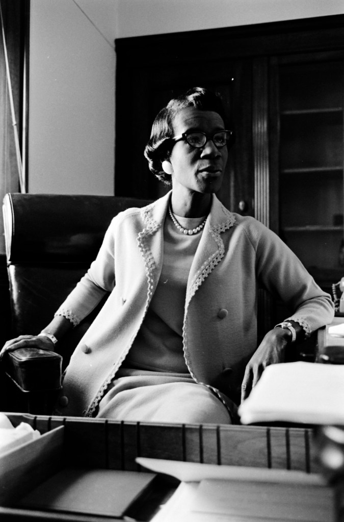 Shirley Chisholm left her mark on political fashion.