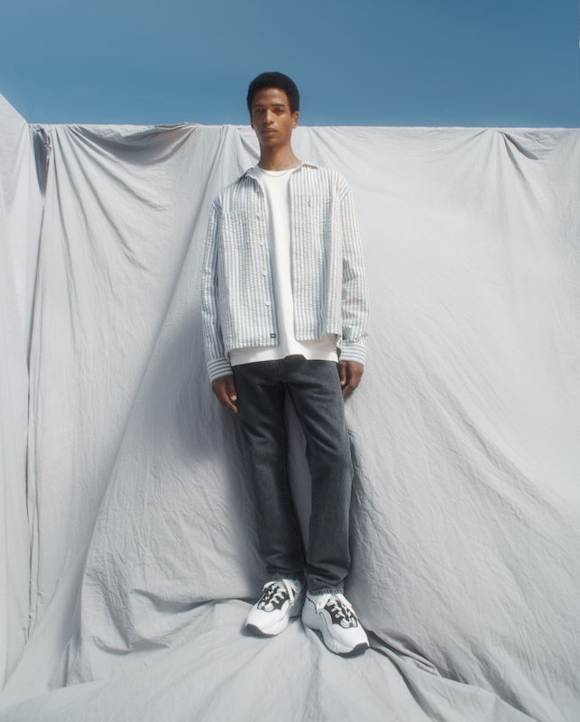 The Spring 2021 Levi's Made & Crafted collection navigates the complexities of pandemic consumers' wants and needs with ease and comfort.