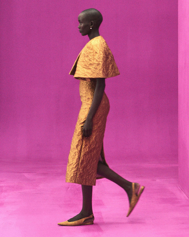 Pink and yellow have had a strong grip on fashion for several years, but a new color is on track to speak to post-pandemic consumers' yearning for hope, optimism, stability and balance.