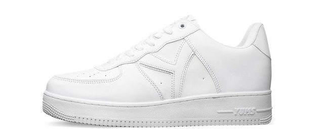 YUMS' Sweet Series collection includes the all-white Sugar. In Nike's originally lawsuit, it specifically named the Sugar shoe and a collaborative collection with the rapper Soulja Boy