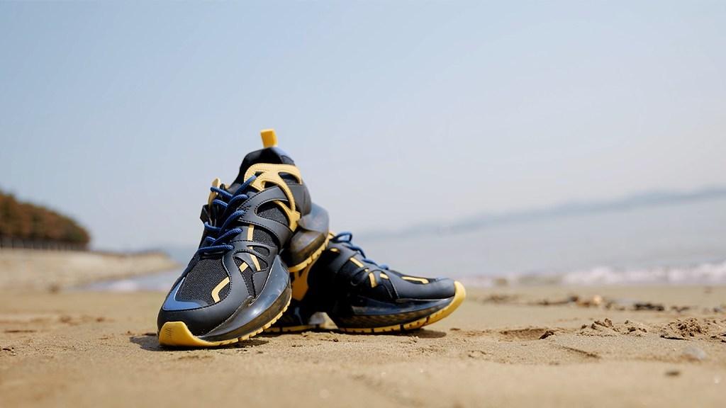 3D-Printed Kickstarter Sneaker Riffs on Aerospace and Opera