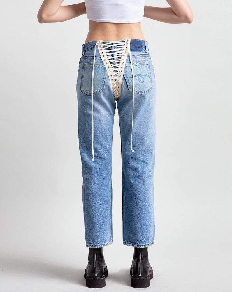 Rivet compiled a list of some of the hottest denim items to stock up on for hot vax summer inspired by sexy designer items.