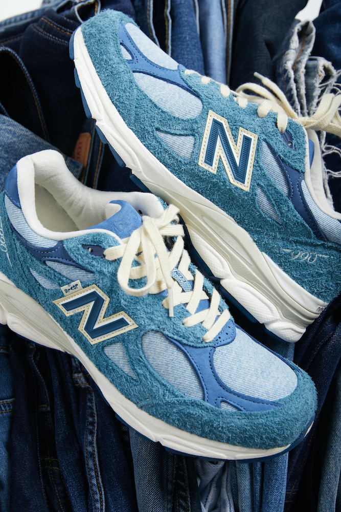 Levi's and New Balance are again joining forces on a limited-edition 990v3 shoe that appeals to sneaker and denim fans alike.