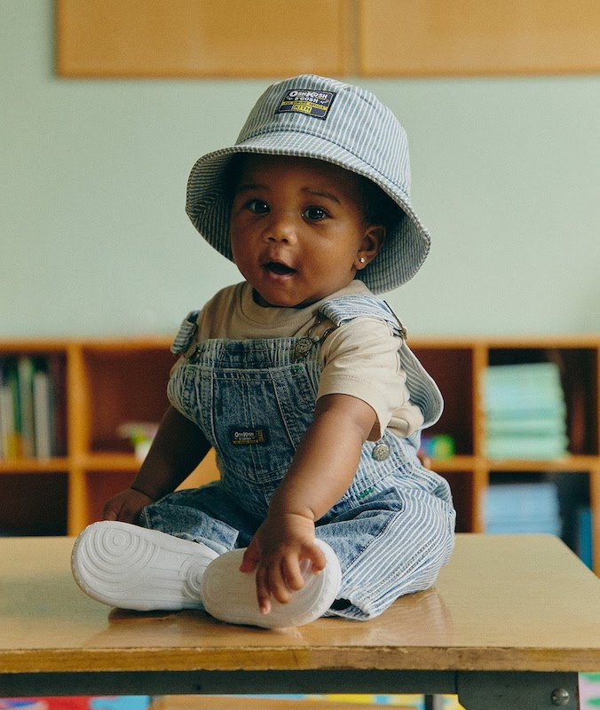 Kith brings its cool factor to one of the oldest names in the children's wear business this fall.