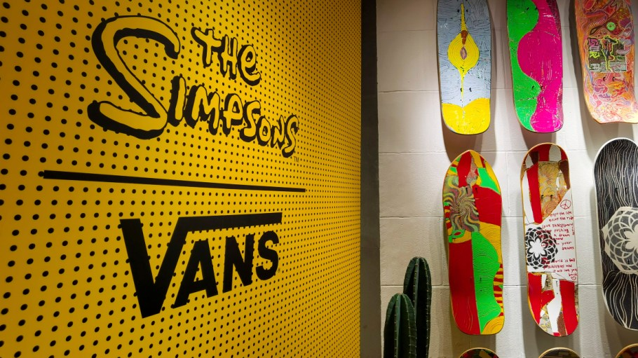 As a result, the Vans, North