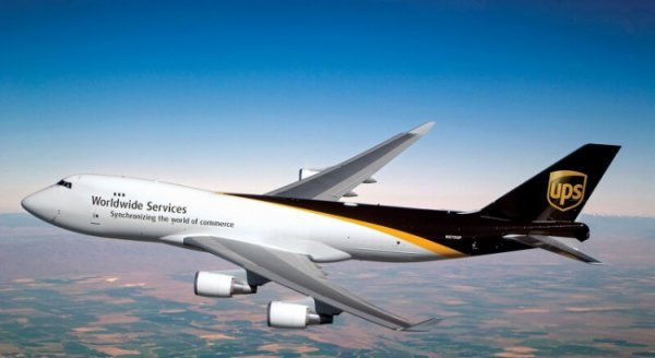 UPS Worldwide Express service