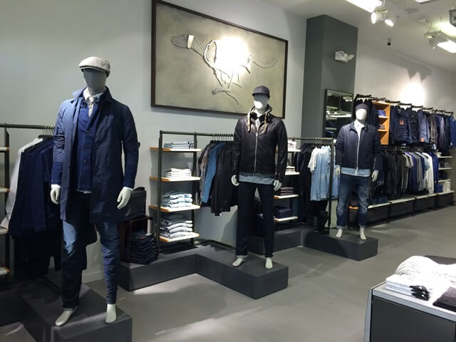 G-Star Raw using RFID technology in stores