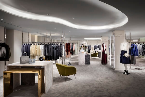 Barneys New York Downtown Flagship_Womens Second Floor_Photograph by Scott Frances_from PR Newswire
