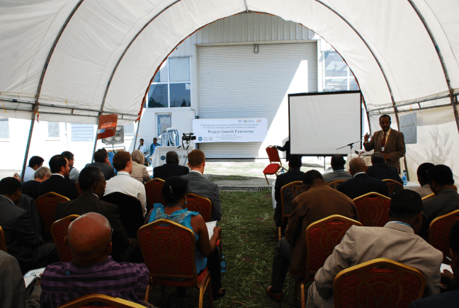 H&M launches of the collaboration with ILO and SIDA in Ethiopia