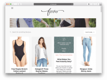 Shop By Shape, Not Size: Fovo Revamps Women's E-Commerce