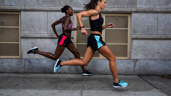 Under Armour women's UA-Fly By running shorts