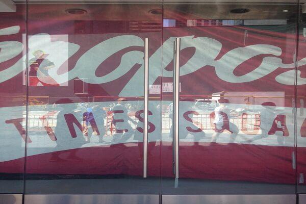 Aeropostale's Closed Times Square Store
