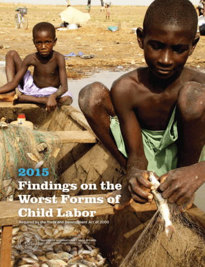 Report cover: Courtesy Department of Labor