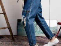 The Week in Denim: Luda Khanlari's Big Debut with Oversized Denim