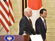 Vice President Pence Gets Talks Going on Bilateral Trade Deal With Japan