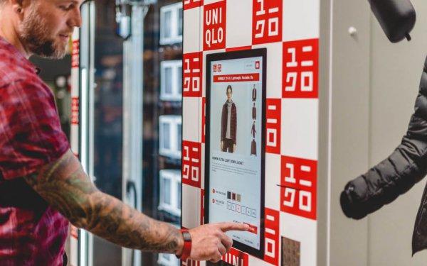 Uniqlo vending machine