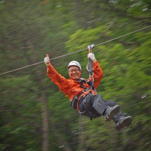 ziplining asheville