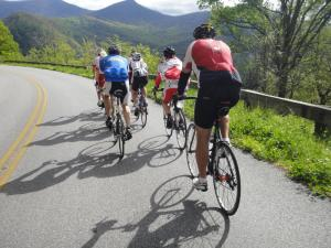 Cycling the Blue Ridge Parkway