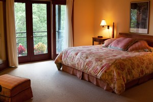 Room 6 bed and private balcony