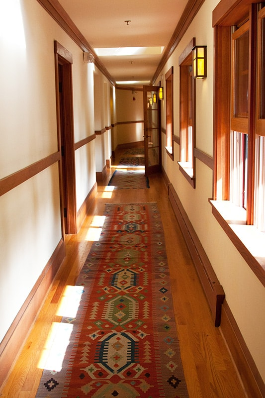 Hallway at Sourwood Inn