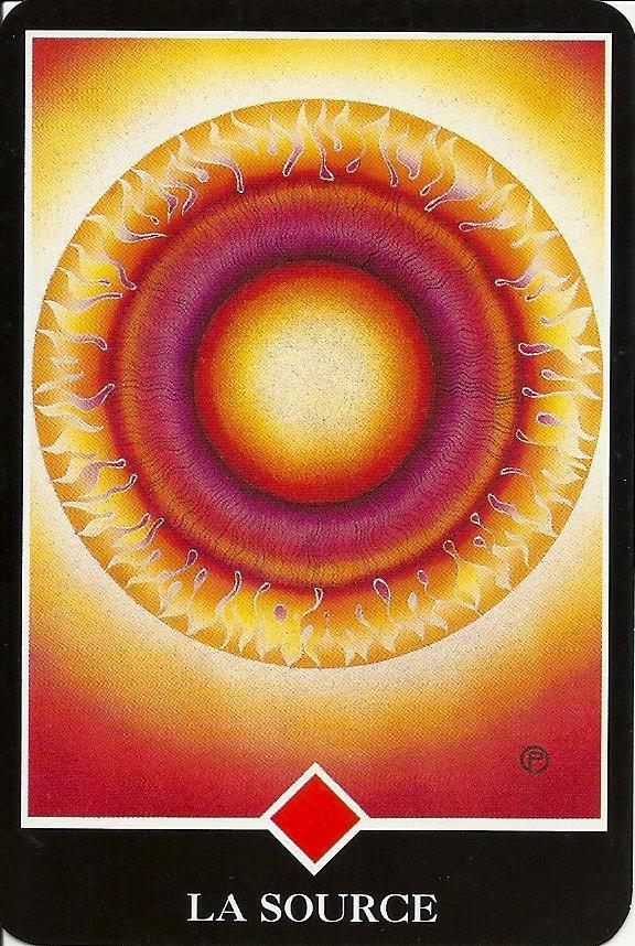 Les lames du Osho Zen Tarot – la série du Feu !