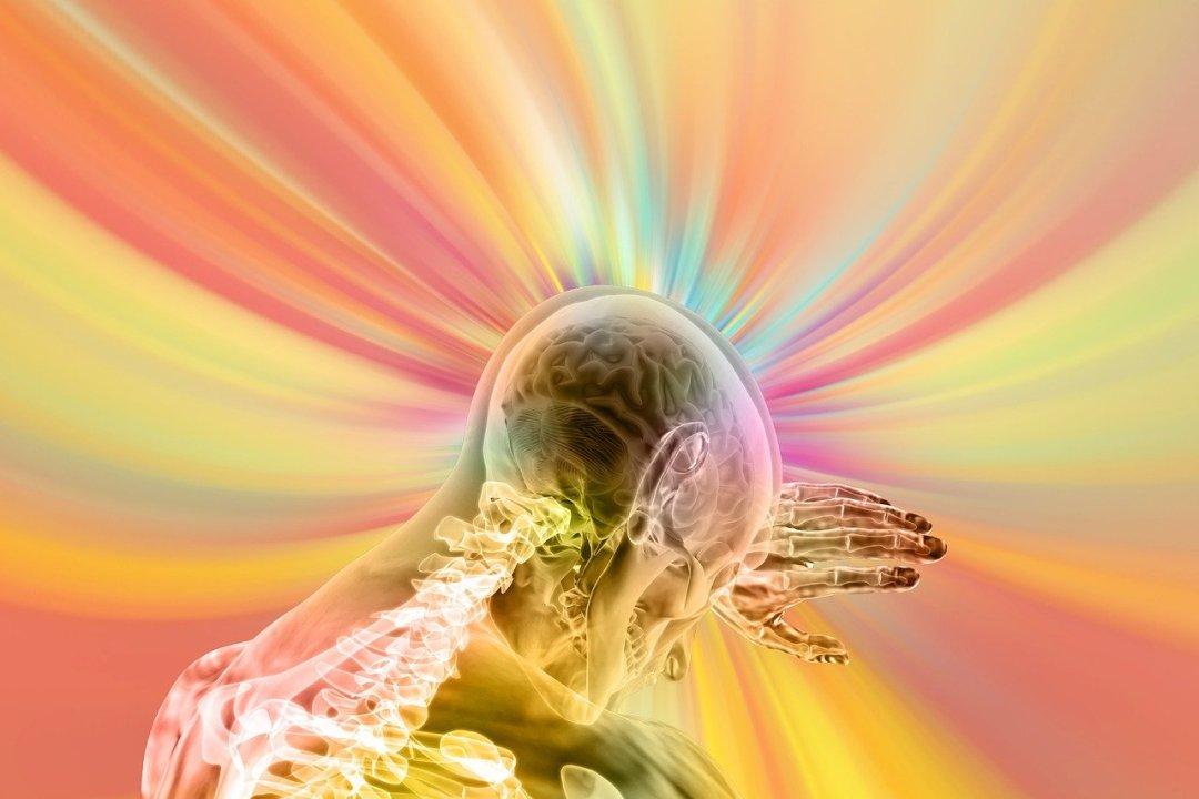 onde cérébral coloré