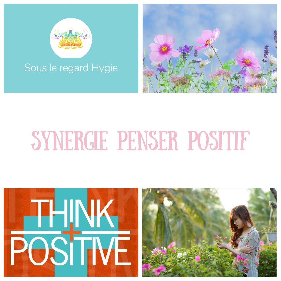 synergie pensée positif