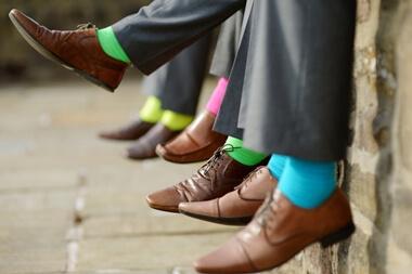 結婚式の靴下マナー
