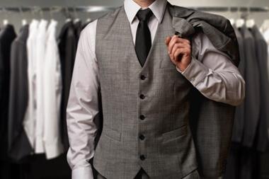結婚式のスーツのベスト