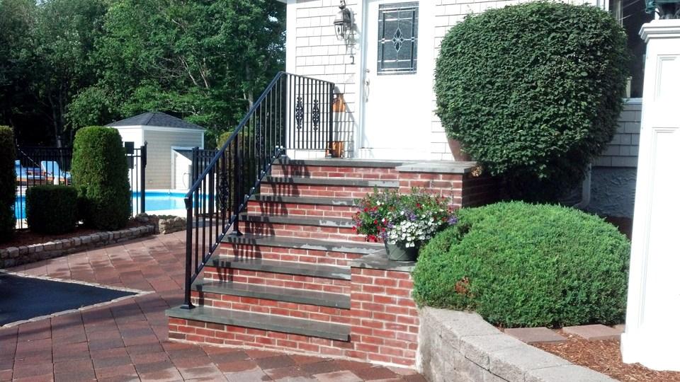 Wrought Iron Railings Ma Ri Custom Iron Hand Rails Ornamental | Wrought Iron Rails For Outdoor Steps | Balcony Balustrade | Staircase Railings | Front Porch Railings | Railing Kits | Rod Iron