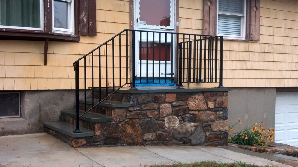 Wrought Iron Railings Ma Ri Custom Iron Hand Rails Ornamental | Outdoor Railings For Steps | Exterior | Outside | Residential | Staircase | Interior