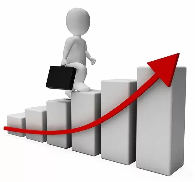 profit, success, graph
