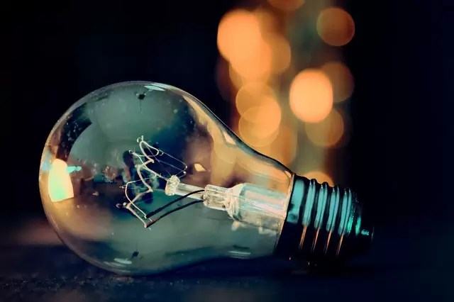 light bulb, lights, bokeh
