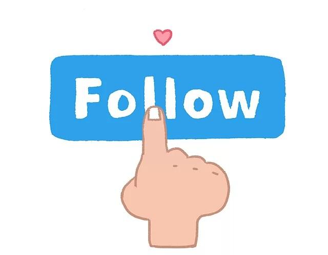 follow, follower, social