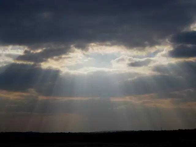clouds, dense, dark