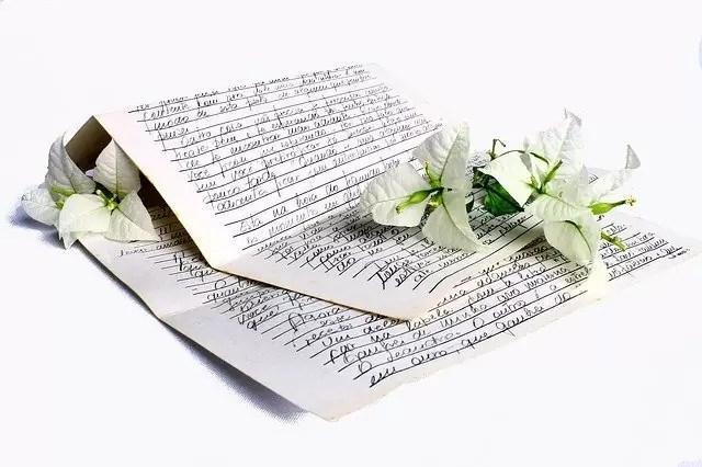 letter, declaration of love, love