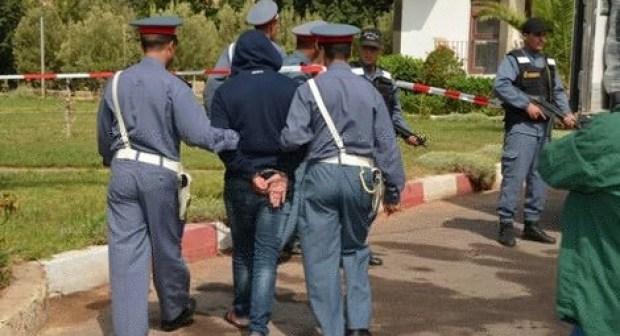 أولاد تايمة: اعتقال جانح قضم أنف زميله