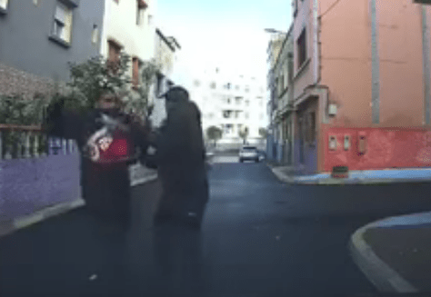 """بالفيديو: استنفار أمني للوصول إلى """"مشرمل"""" ظهر في فايسبوك"""