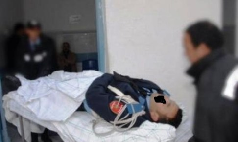 بوليس اشتوكة يفلح في اعتقال المعتدين على شرطي