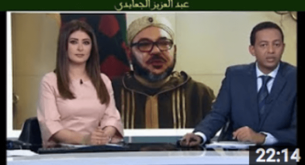 تقرير رائع من قناة الجزيرة للخطاب الملكي